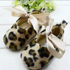 meisjesschoen-panter of luipaard print